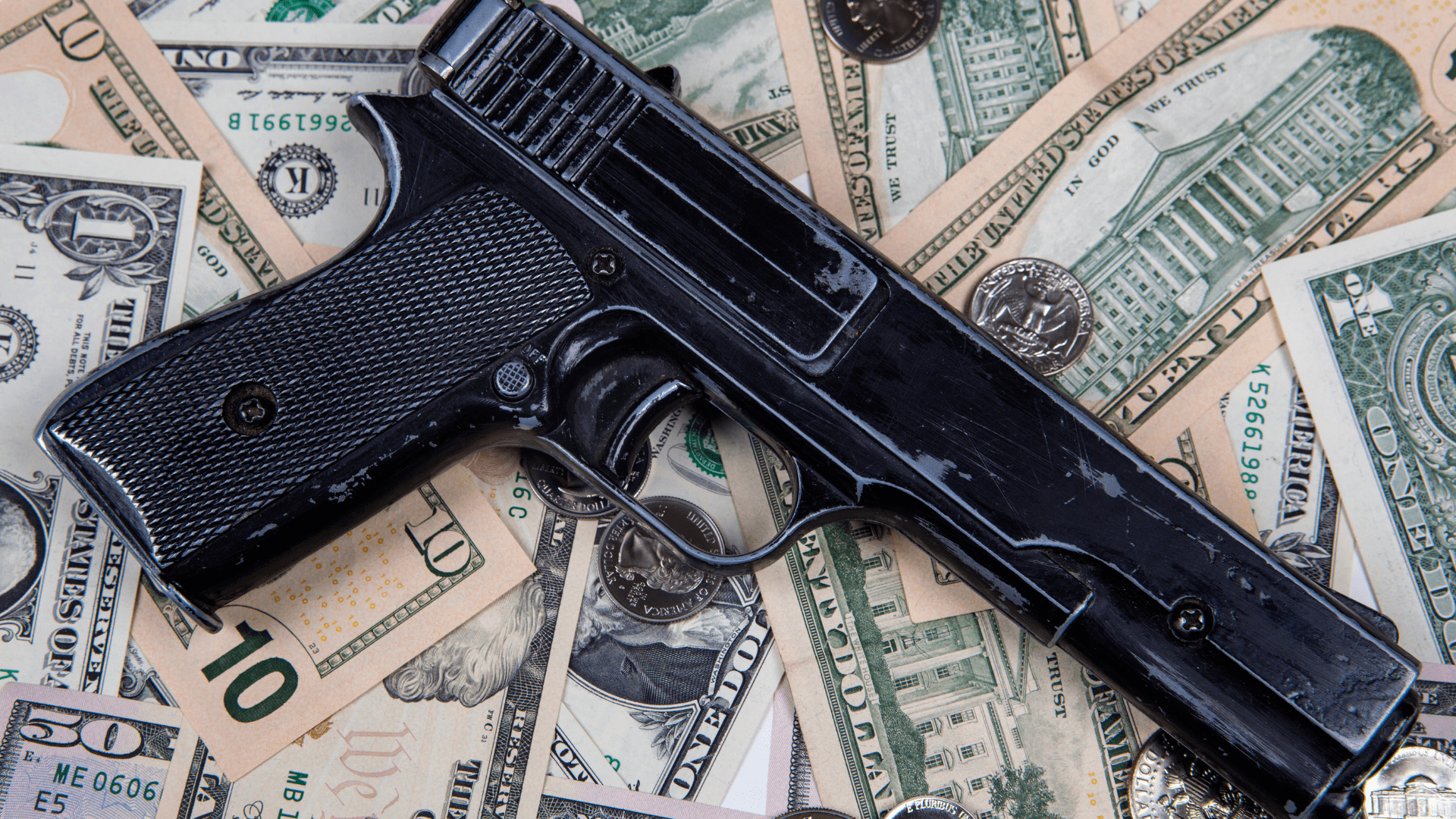 BANKS AND GUNS DON'T MIX – OR DO THEY_